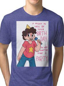 Birthday Steven Tri-blend T-Shirt