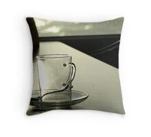 empty can be beautiful too Throw Pillow