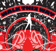 Walk this way Sticker