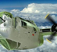 Liberator Attack - Exhibits at the R.A.F. Museum Hendon by Colin J Williams Photography