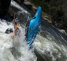 Kayak Tail stand Australia by Rick Box
