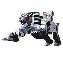 Mighty Morphin Power Rangers Tigerzord Photographic Print