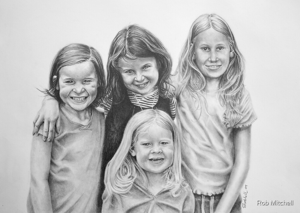 Johns girls by Rob Mitchell