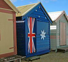 Beach Box Patriot by Alison Badgery