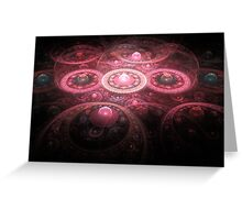 The Gears of Time & Space Greeting Card
