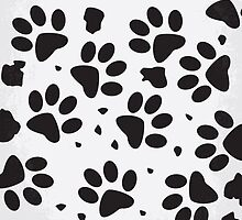 No229 My 101 Dalmatians minimal movie poster by JiLong