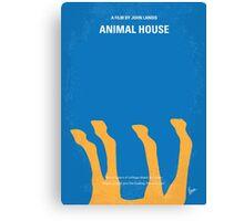 No230 My Animal House minimal movie poster Canvas Print