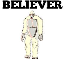 Yeti Believer by GiftIdea