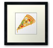 Pizza Slice Framed Print