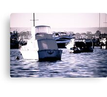 Striking mono Canvas Print