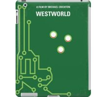 No231 My Westworld minimal movie poster iPad Case/Skin