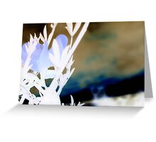 Earth From A Distance Greeting Card