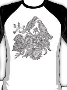 Bird Doodle - Work in Progress T-Shirt