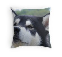 Scenting the breeze Throw Pillow