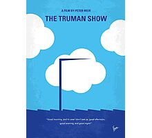 No234 My Truman show minimal movie poster Photographic Print