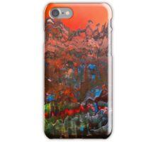 Craggy Mountain Sunset iPhone Case/Skin