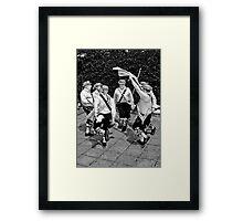Morris Men Framed Print