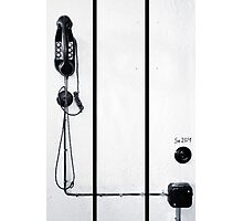 study wall telephone I Photographic Print