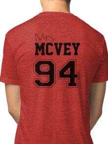 Mrs. McVey 94 Tri-blend T-Shirt