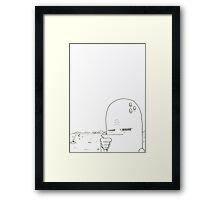 Desert Minded Framed Print