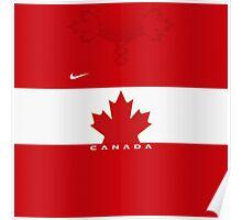Team Canada (Sochi 2014) Home Jersey Poster