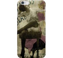 Beauty In The Mirror iPhone Case/Skin