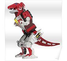 Mighty Morphin Power Rangers Tyrannosaurus Dinozord Poster