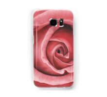 Close Up Rose - Dry Brush Oil Painting Samsung Galaxy Case/Skin