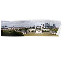 London Skyline Panorama Poster
