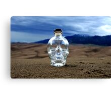 Crystal Skull in the Great Sand Dunes Canvas Print