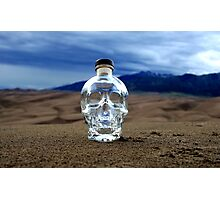 Crystal Skull in the Great Sand Dunes Photographic Print