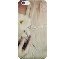 To hold a rose so sweet iPhone Case/Skin