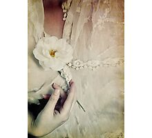 To hold a rose so sweet Photographic Print