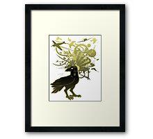 Kamikaze Raven Framed Print