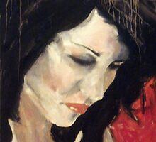 Natasha Cupac (self portrait) by Natasha Cupac