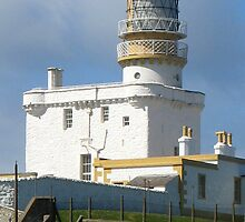 Kinnaird Head Castle Lighthouse by Rupert Connor