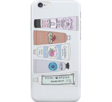 Favorite Hand Cream Collection iPhone Case/Skin