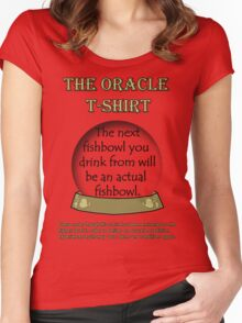 Fishbowl; The Oracle T-shirt Women's Fitted Scoop T-Shirt