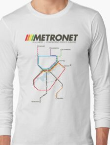 RETRO METRONET: 2013's plan Long Sleeve T-Shirt