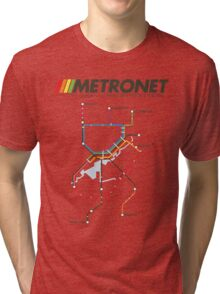 RETRO METRONET: 2013's plan Tri-blend T-Shirt