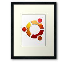 Ubuntu Logo Framed Print