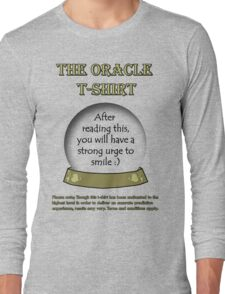 Smile; The Oracle T-shirt Long Sleeve T-Shirt