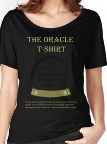 Smile; The Oracle T-shirt Women's Relaxed Fit T-Shirt