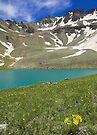 Upper Blue Lake, Colorado by Tamas Bakos