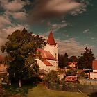 Czech Village Church by Stevacek