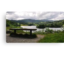 Overlooking Rydal Water Canvas Print