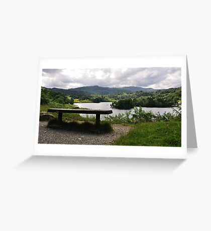 Overlooking Rydal Water Greeting Card
