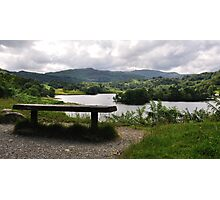 Overlooking Rydal Water Photographic Print