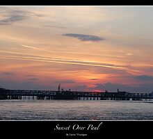 Sunset Over Paul by woodgag