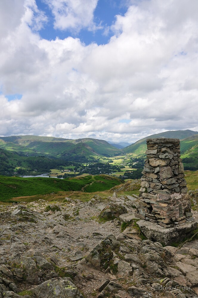 Loughrigg Fell by Andrew Cryer